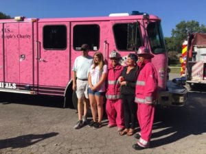 Pink Heals Tour First Response Jackie Water Fire Mold Damage, Pink Heals Tour Touches First Response Family